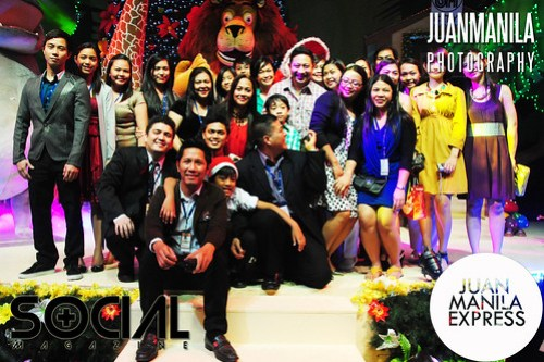 Celebrating SM City Fairview Madgascar Christmas Adventure which starts on November 10, 2012 to January 6, 2013.