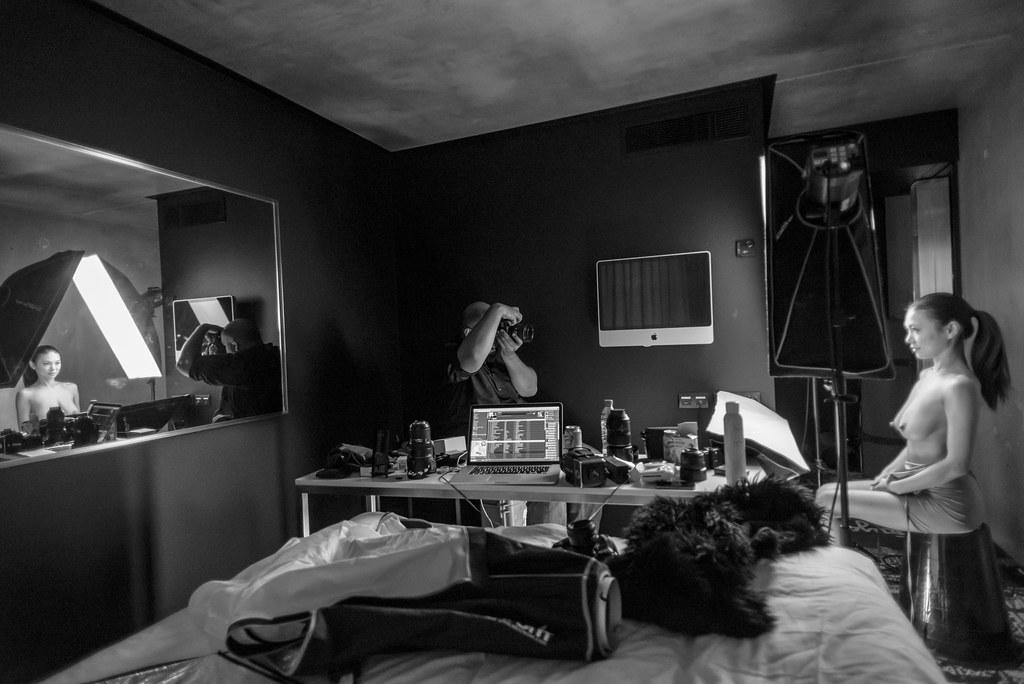 Icedsoul.de Paris Photoshooting - Behind The Scenes