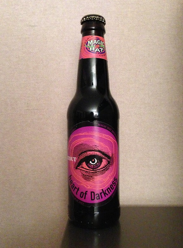 Trying out Magic Hat Heart of Darkness, their seasonal stout.