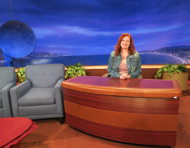 A Visit to the Team Coco Digital Office & A Live Taping of Conan