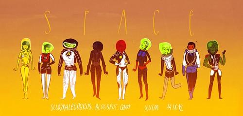 Sur m'ale Gobros (xulm) -- Space Babes!