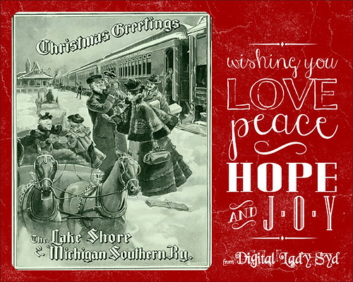 Free Christmas Card Templates Digital Lady Syd\u0027s Fun Photoshop Blog