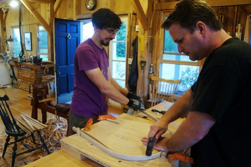Chairmaking workshop