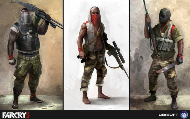 Far Cry 3 Concept Art