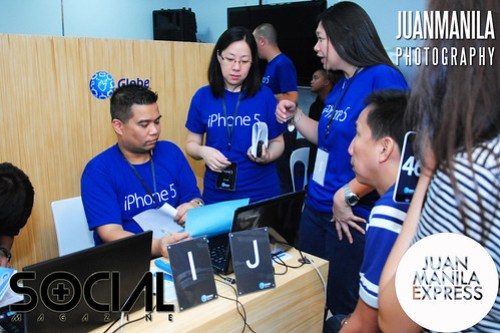 Once their numbers are called, Globe subscribers are in just a next steps away from owning the iPhone 5 series.