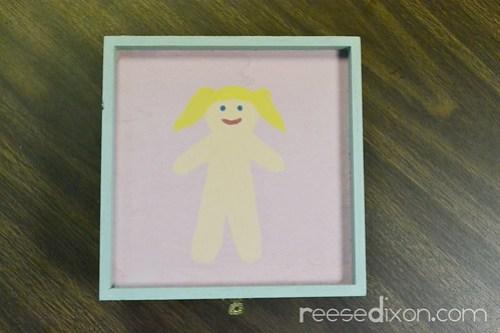 Dress Up Doll Box Tutorial Step 2