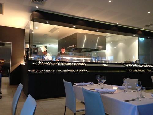 Blu Grill kitchen
