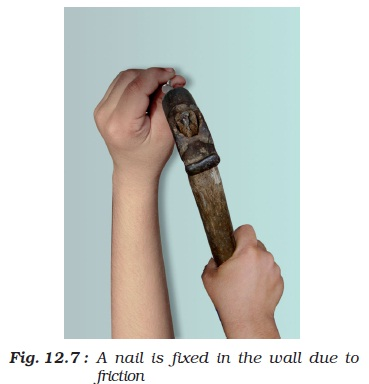 NCERT Class VIII Science Chapter 12 Friction Image by AglaSem