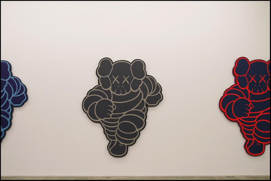 "Tuukka13 - KAWS Exhibition ""Imaginary Friends"" at Galerie Perrotin, Paris - 12.2012 - 8"
