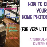 how to build your own party photobooth at home!