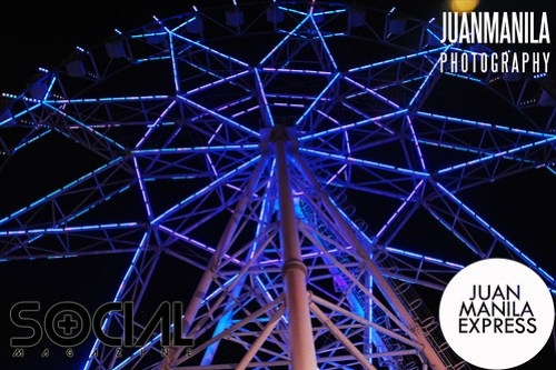 Bring the whole family this holiday season to the SM Mall of Asia Eye.