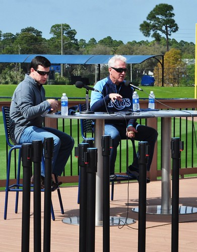 Tampa Bay Rays Spring Training Press Conference, Charlotte Sports Park, Port Charlotte, Fla., Feb. 12, 2013