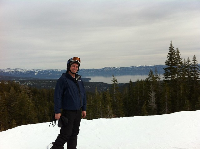 Snowboarding Alpine Meadows