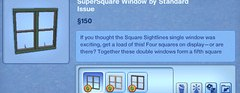 SuperSquare Window by Standard Issue