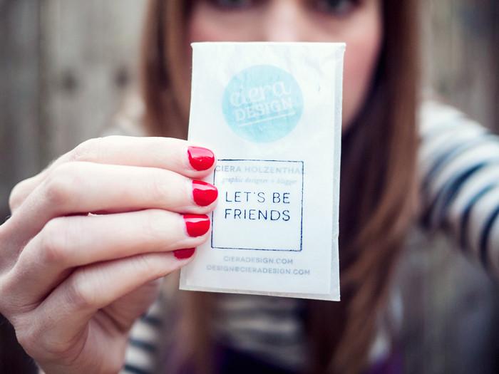Ciera Design Alt Business Cards