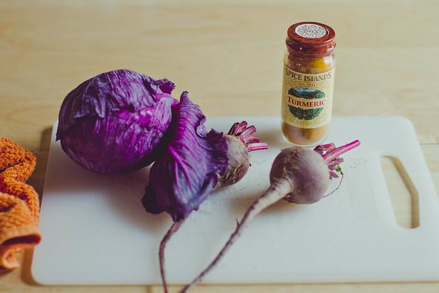 DIY natural Easter Egg Dye Ingredients