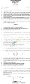 CBSE Board Exam 2013 Sample Papers (SA1): Class X   Science
