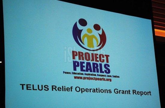 TELUS Relief Operations Grant Report by Project Pearls.