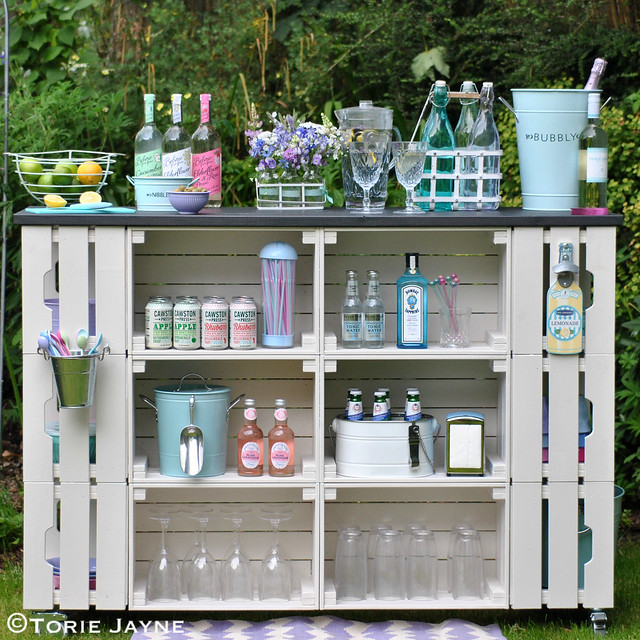 Theke Aus Europaletten Diy Outdoor Bar Tutorial | Torie Jayne