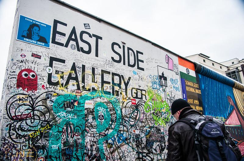 East Side Gallery Berlin Wall