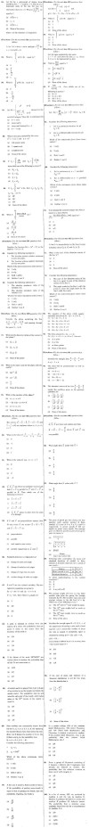 SCRA 2013 Mathematics Question Paper