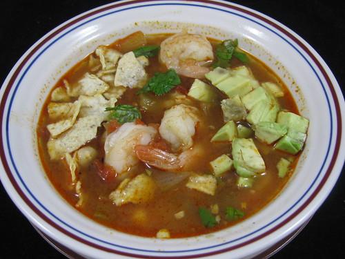 Shrimp Chili Lime Soup
