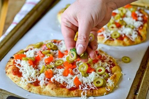 Deluxe Flatbread Pizza-5