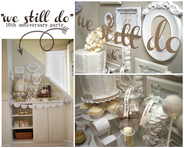 Just ME We still do! {wedding anniversary party} - anniversary party ideas