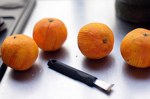 orange cake zest