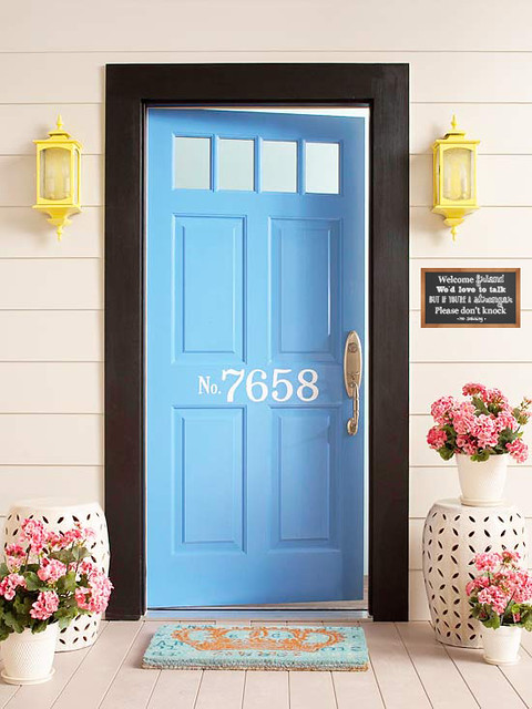 Welcome friend, we'd love to talk, but if you're a stranger, please don't knock. No soliciting.