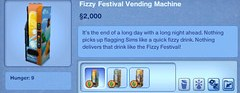 Fizzy Festival Vending Machine
