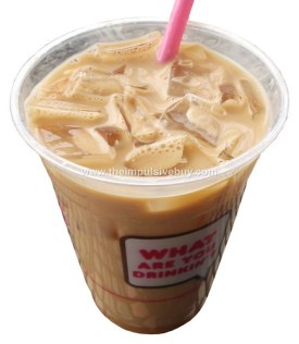 Dunkin' Donuts Old Fashioned Butter Pecan Iced Coffee