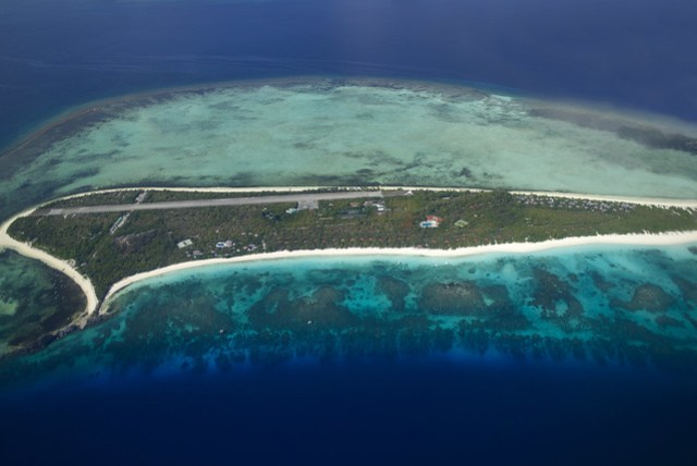 Amanpulo - Aerial View