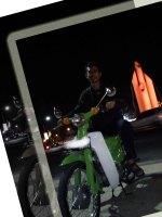 Honda C Modif Nyentrik Hijau Motorcycle
