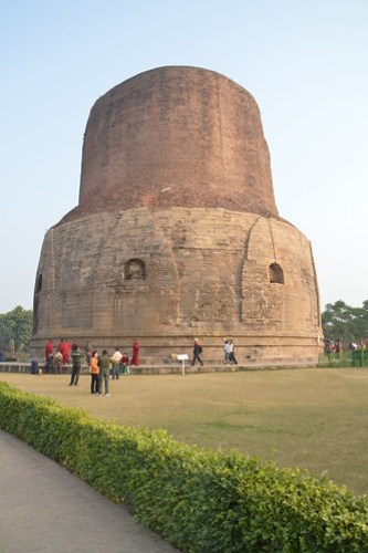 Dhamek Stupa , Sarnath, Place of first sermon by Lord Buddha