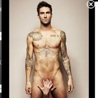 Sexy: Adam Levine nackt