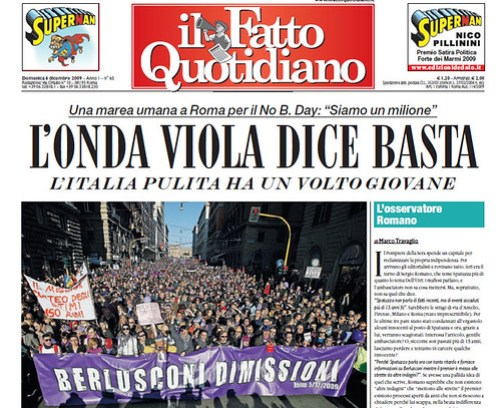 Il Fatto Quotidiano: Periodico Italiano en Formato Compacto y a Color