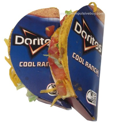Taco Bell Cool Ranch Doritos Locos Tacos