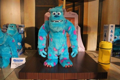 Monsters University Toy Fair event