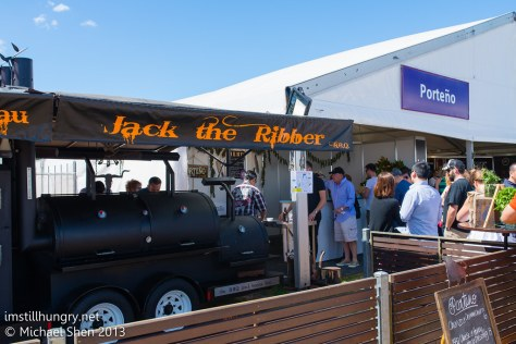 Taste of Sydney - Porteno's BBQ Jack the Ribber