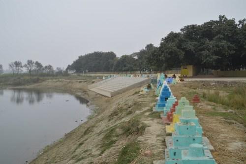 Hirannavati River , near Ramabhar Stupa