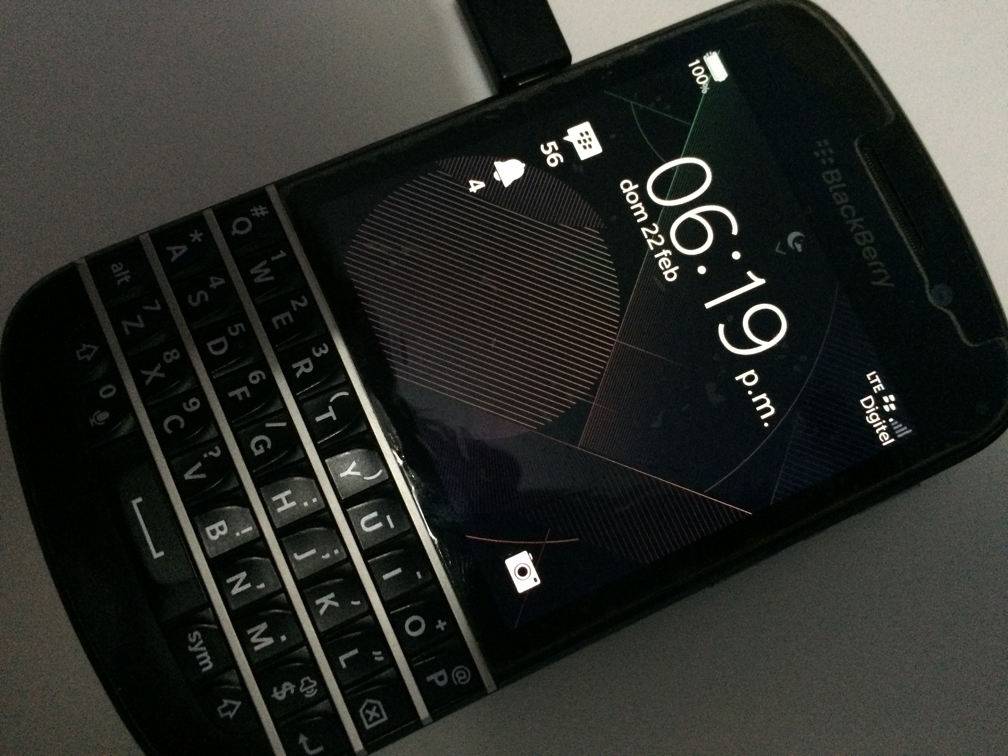 Blackberry Q10 Libre Primera Vista Blackberry Q10 Con Blackberry 10 3 1 Con