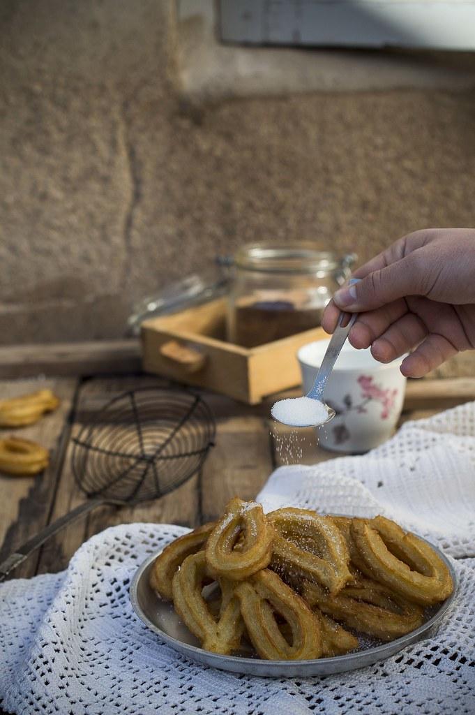 Como hacer churros caseros crujientes y f ciles gastroandalusi - Como hacer churros en casa ...
