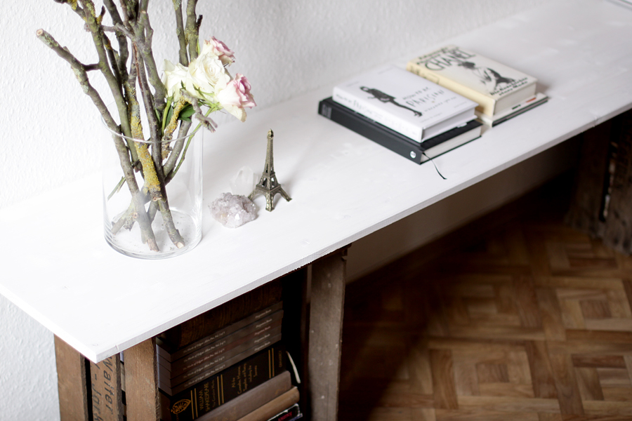 Sideboard Weinkisten My Diy Sideboard Table | Selbstgebautes Sideboard | Cats