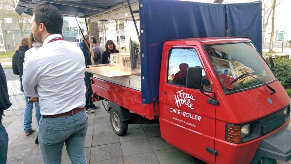 Cafe-Roller.de vor dem BarCamp Bonn
