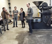 In the roastery | Elysian Coffee | Mount Pleasant