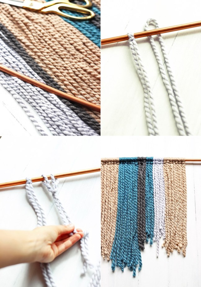 DIY-Yarn-Wall-Hanging-Steps