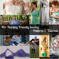 Nursing Friendly PDF Sewing Patterns & Alteration Tutorials