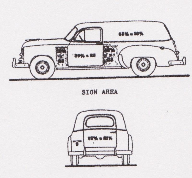1951 chevrolet sedan delivery
