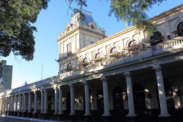Estación Ferrocarril Central,Asunción 20141123